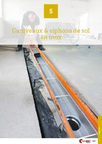 Collinet Catalogue Caniveaux Inox
